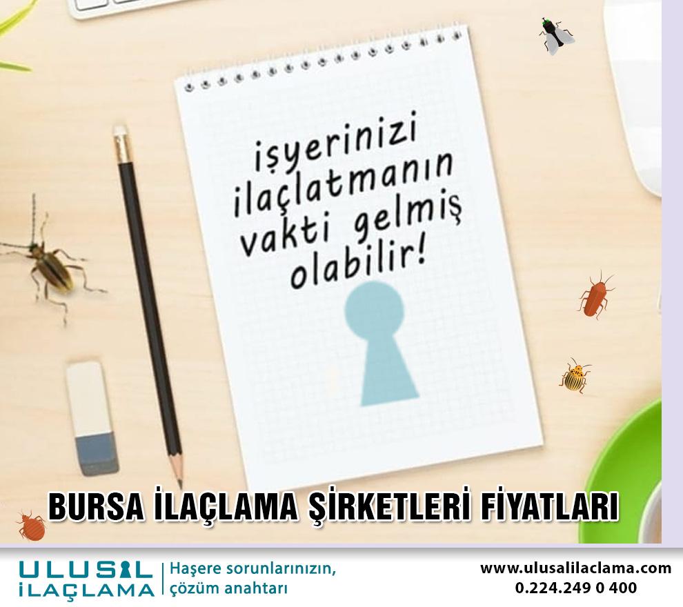 Bursa ilaçlama BURSA İLAÇLAMA ŞİRKETLERİ FİYATLARI...